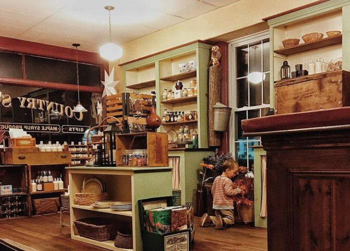 Rochester Country Store with child