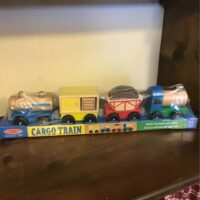 Cargo train children's toy