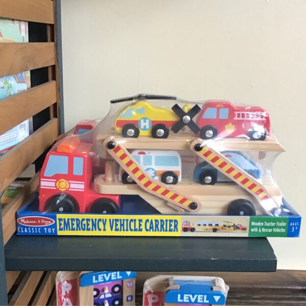 Emergency Vehicle Carrier children's toys