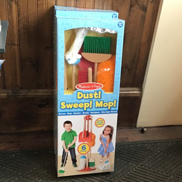 Dust sweep mop children's toys