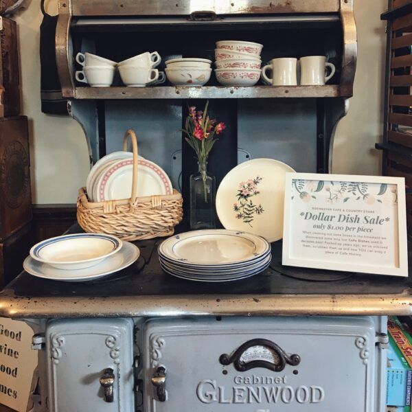 Rochester Country Store dollar dish sale