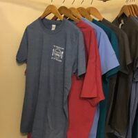 Cafe short sleeve shirt in multiple colors