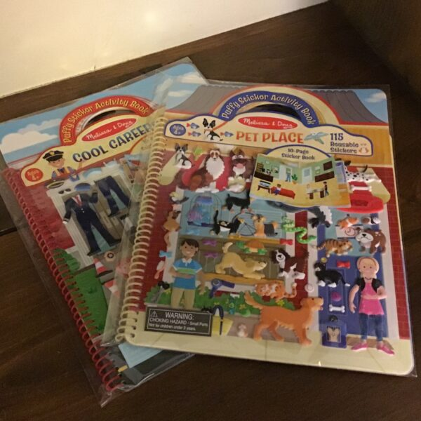 Rochester Country Store puffy sticker activity book children's toy