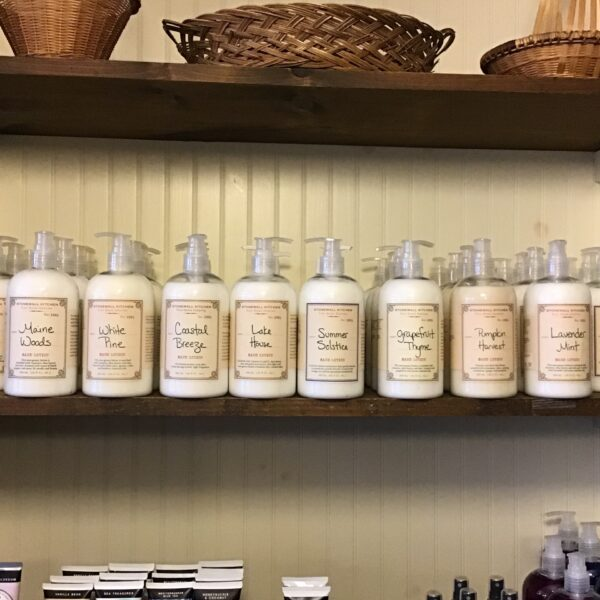 Rochester Country Store lotion selection