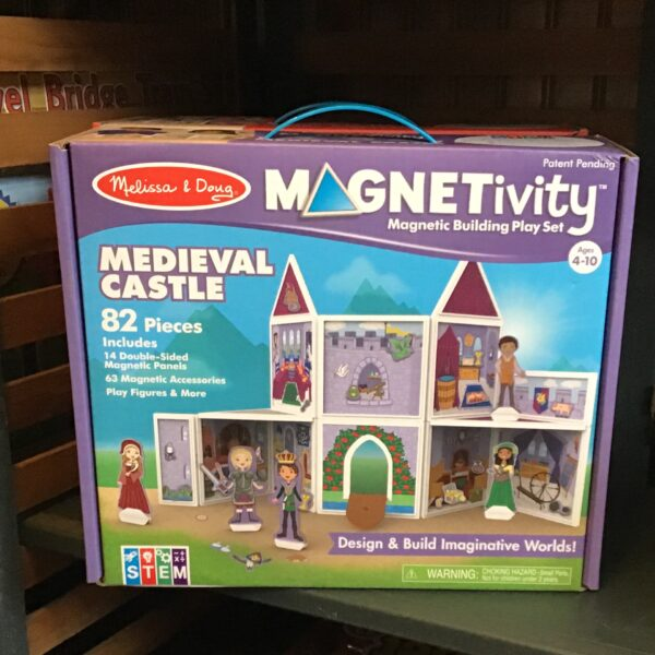 Rochester Country Store Magnetivity Medieval Castle children's toy
