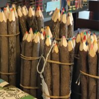Rochester Country Store wooden colord pencils