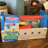 Rochester Country Store Take Along Tool Kit children's toy