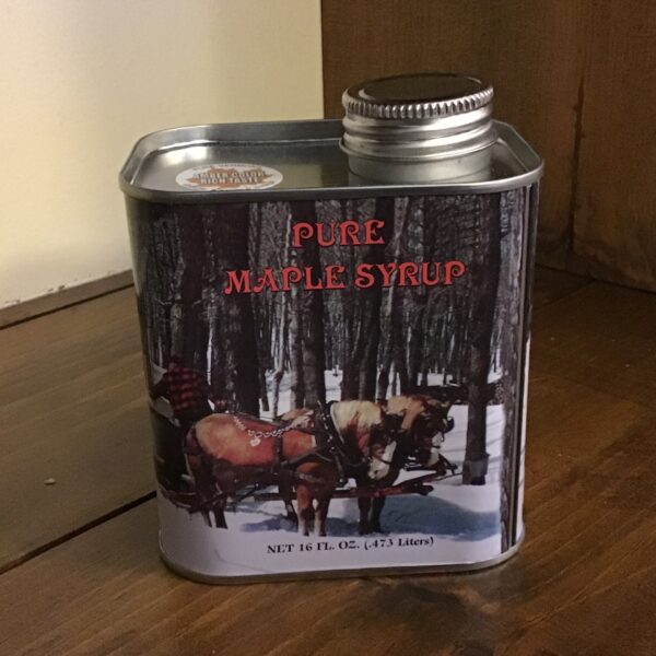 Rochester Country Store Pure Maple Syrup tin