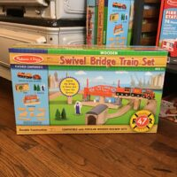 Rochester Country Store Swivel Bride Train Set children's toys
