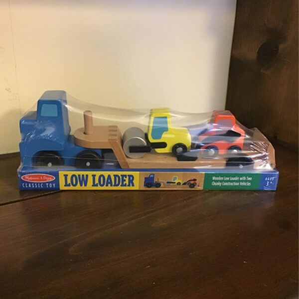Rochester Country Store Low Loader children's toy truck