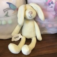 Rochester Country Store Tag bunny stuffed animal