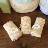 Rochester Country Store Tag swaddle blanket