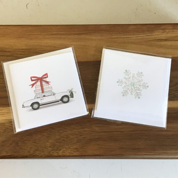 Rochester Country Store Merry and Bright greeting cards