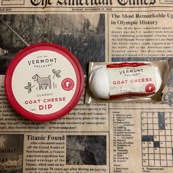 Rochester Country Store Vermont Creamery goat cheese